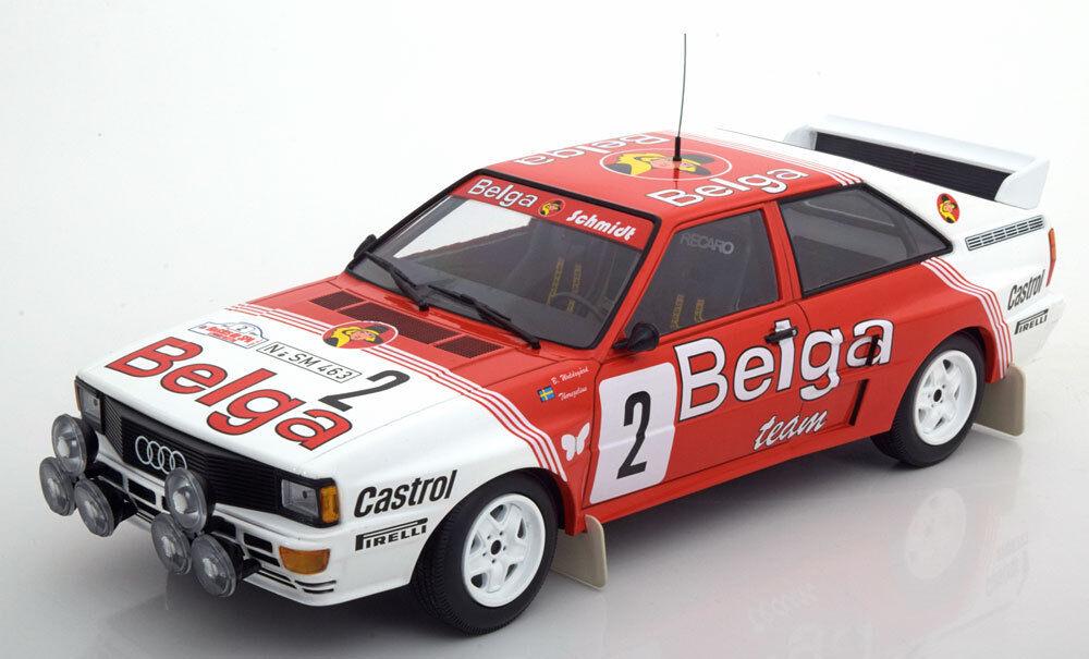 Minichamps Audi Quattro Winner Boucles de Spa 1985 1985 1985 Waldegard Thorszelius  18 487f71