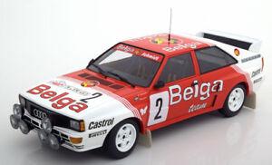 Minichamps Audi Quattro Gagnant Boucles De Spa 1985 Waldegard/thorszelius #