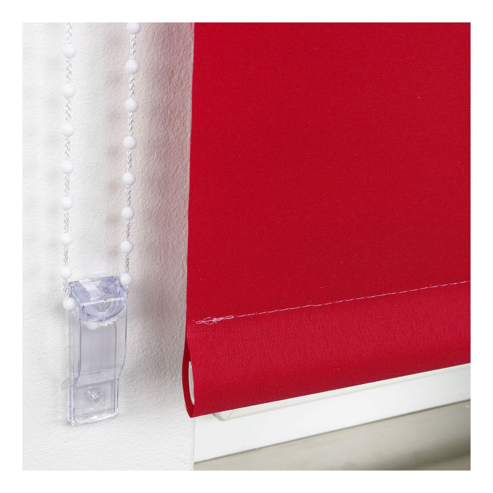 Kettenzugrollo Rot Seitenzugrollo Tür Fensterrollo Sichtschutz Sichtschutz Sichtschutz Dekoration 9b4331