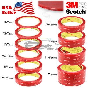 10-Feet-Genuine-3M-VHB-4905-Double-Sided-Mounting-Acrylic-Foam-Tape-Adhesive