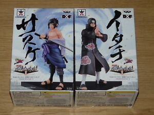NARUTO-SHINOBI-RELATIONS-2-SET-COMPLETO-DUE-ACTION-FIGURE-BANPRESTO-SIGILLATE