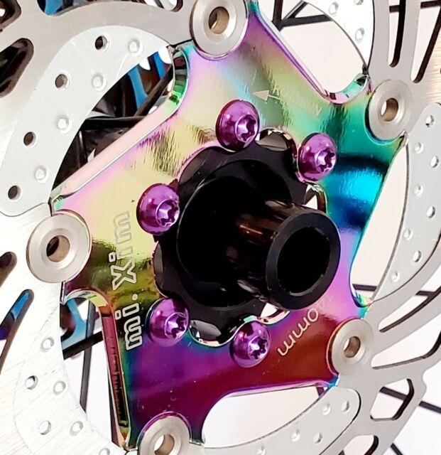 12Pcs MTB//ROAD Bicycle Disc Brake Rotor Torx T25 Screws M5x10mm Bolts Hope TRP