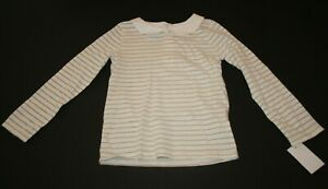 OshKosh BGosh Girls 2T-5T Peter Pan Long Sleeve Top 5T