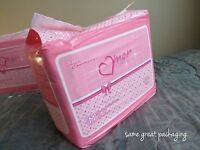 12 Diapers - Dc Amor (2016) - S/m/l - All Pink Theme Plastic-backed Adult Baby