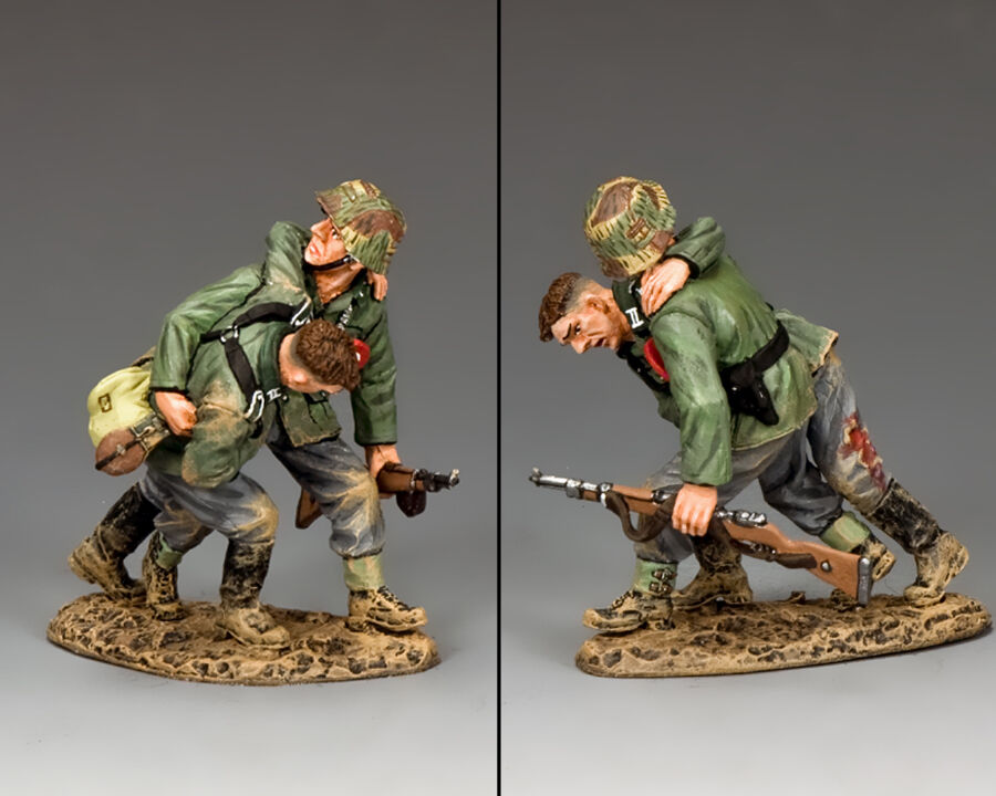 KING AND AND COUNTRY Battlefield Rescue WW2 German WH046 WH46