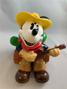 Disney Cookie Jars >> Details About World Of Disney Cookie Jar Mickey Mouse Cowboy Cookie Jar In Box Zak Design