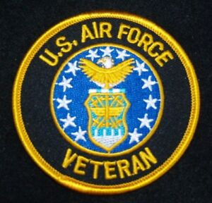UNITED-STATES-AIR-FORCE-034-VETERAN-034-Patch-3-034-Patch-Round-with-Gold-Letters