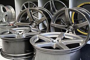 Fuer-Mercedes-20-Zoll-Alufelgen-Satz-Felgen-Dusksilver-R230-W211-W205-W212-W218