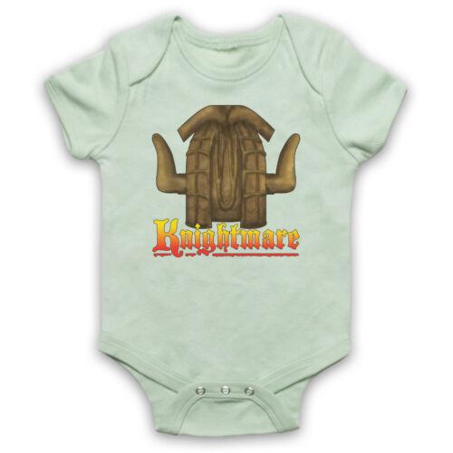 Knightmare Kids TV Logo Rétro réalité virtuelle Gameshow Baby Grow Babygrow Cadeau