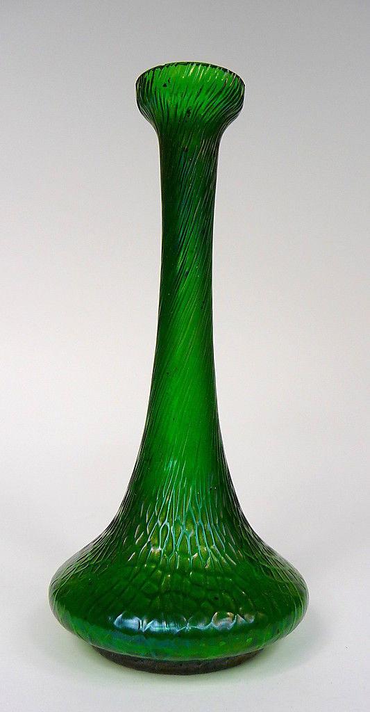 Vase à 1900 Palmier König & Habel