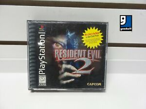Resident Evil 2 (PlayStation 1, 1998) Complete with Manual! TESTED!!