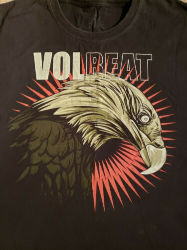 Rare Volbeat Fallen Eagle T-shirt XXL Fruit Of The