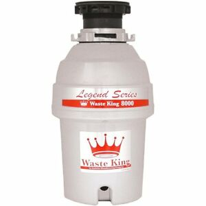 Waste King L 8000 Garbage Disposal Legend Series 1 0 Horsepower Continuous Feed