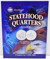 Statehood Quarter Folder, Territories & Dc Included