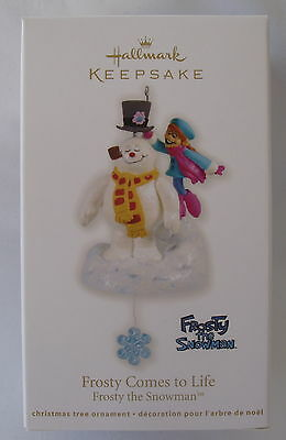 Hallmark 2012 Frosty the Snowman Comes To Life New Christmas Keepsake Ornament