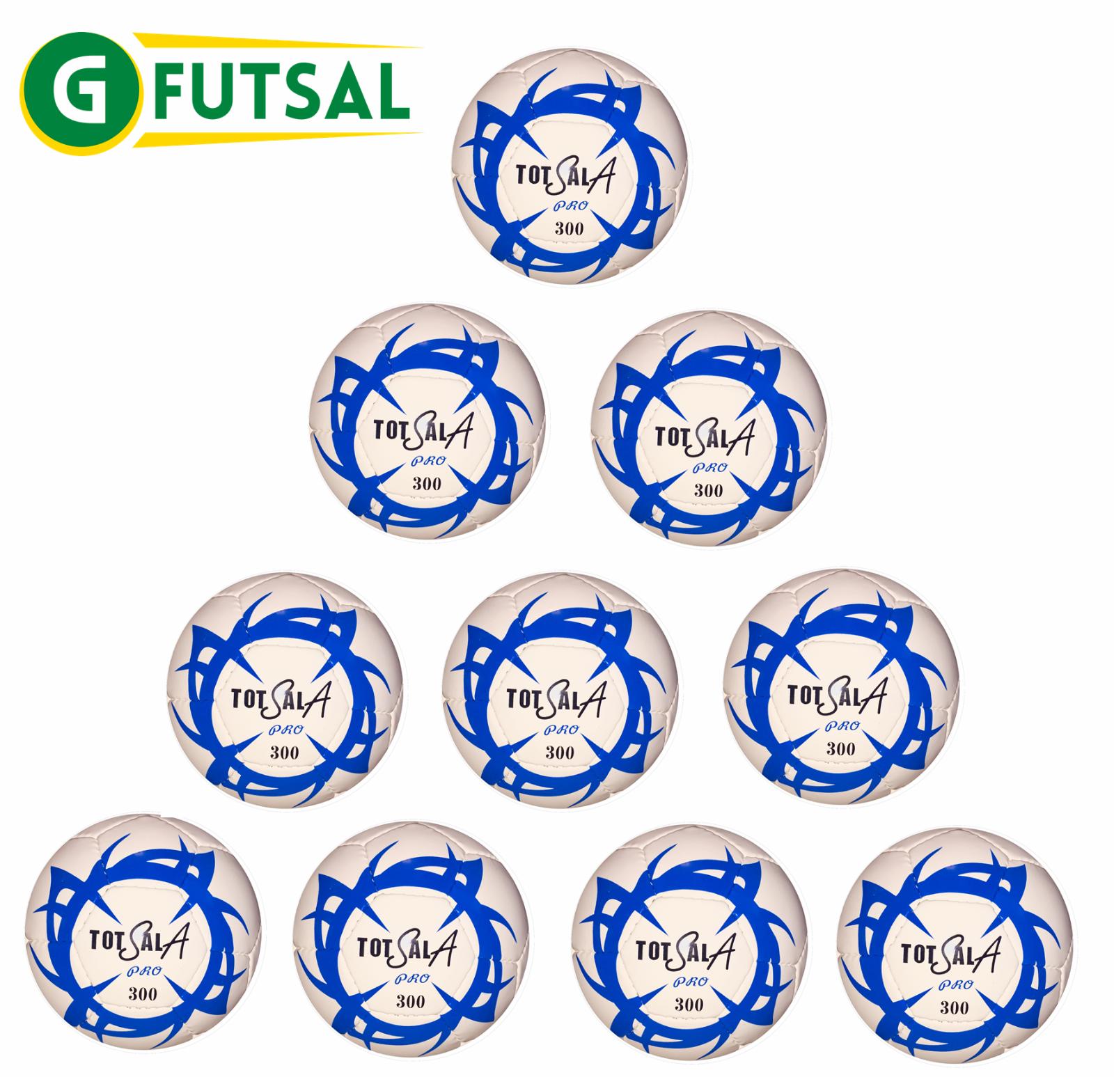 10 x gfutsal totalsala 300 Pro-Futsal Match Ball-Taglia 3