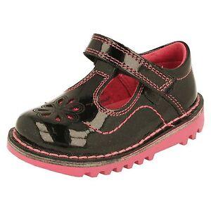 new style fd15f 4962e Details zu Mädchen Kickers Schuhe - Kick T Blumenblatt