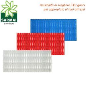 PANNELLO-PORTAUTENSILI-PORTA-UTENSILI-FORATO-CM-100x50-CON-KIT-ACCESSORI-GARAGE