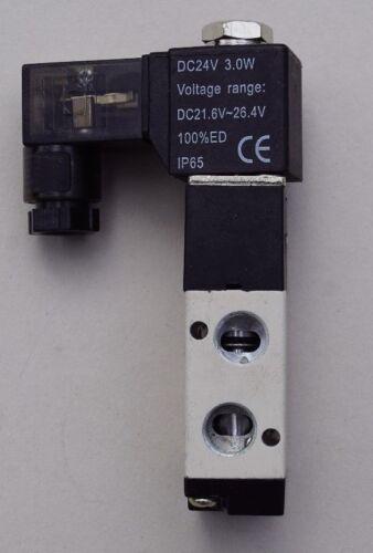 "Pneumatic Valve 3//2 way 24v 1//8/"" 1,5-8 Bar NEW Pneumatic Directional Control Valve 3//2v"