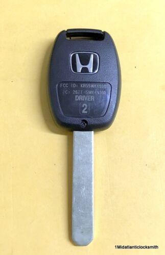 NEW OEM 09-15 HONDA PILOT SUV MASTER KEY KEYLESS REMOTE FOB KR55WK49308 FOB ID2