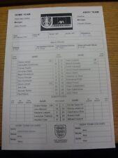06/02/2002 Teamsheet: West Ham United v Chelsea [FA Cu] (Folded). Any faults are