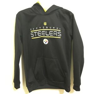 buy online facd7 f9f2d Pittsburgh Steelers Hoodie LG 14-16 Youth Pullover ...