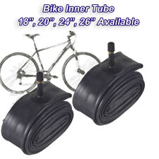 "2x chamber has air 20 x 1.50 to 2.00/"" schrader valve bmx mtb velo vtc city tire"