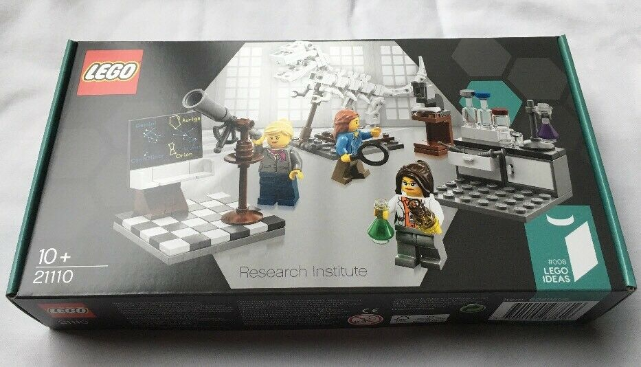 Lego Ideas Research Institute Set 21110 From 2014  Brand New