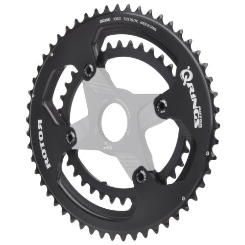 53//39T Shimano Road Oval Chainring SET-50//34,52//36 ROTOR Qrings Aldhu 3D