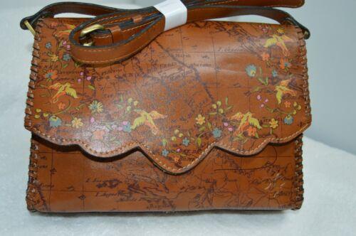 Patricia Nash FLORAL MAP PRINT Leather Sarola Cros