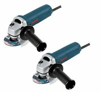 Two Bosch 1375a 4-1/2'' Small Angle Grinder 6 Amp Electric Tool 1375a-2k