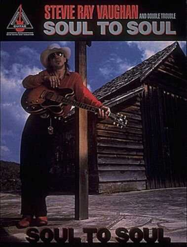 Stevie Ray Vaughan Soul to Soul Sheet Music Guitar Tablature NEW 000690025