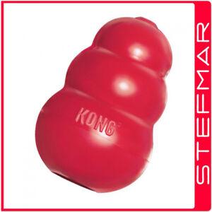 KONG Classic Stuffing Dog Toy Tough Pet Treat Chew Rubber S M L XL XXL