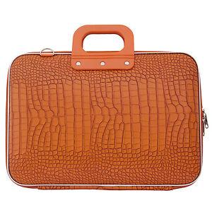 BOMBATA-Naranja-Cocco-15-034-Laptop-Case-bolsa-con-correa-para-el-Hombro