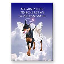 MINIATURE PINSCHER Wanted Poster FRIDGE MAGNET No2 DOG!