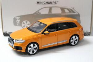 1//18 AR Minichamps Audi Q7 SUV Diecast Model Car gift Brown//Orange//Blue//White