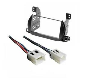 Details about Car Radio Stereo Double Din Dash Kit Wire Harness for on