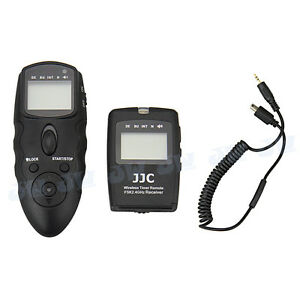 JJC Wireless Multifunction Timer Remote For Fujifilm X-E1 X-S1 HS 33 30 28 25EXR