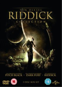 Alexa Davalos, Colm Feore-Pitch Black/Chronicles of Riddick/Dark Fury -  DVD NEW