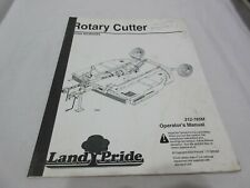 Land Pride 312 785m Operators Manual Rotary Cutter Series Rcr2684 Buy It Now