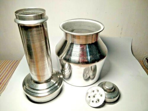Easy use Large Traditional Puttu Kudum Pittu Maker stainless steel Puttu