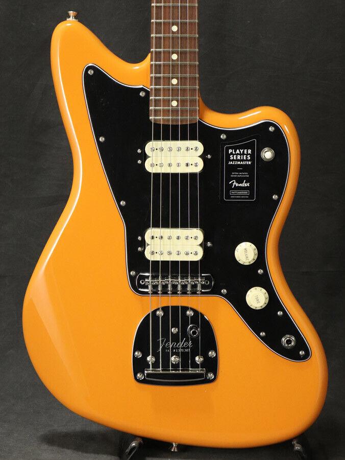 Fender Player Series Jazz Master PauFerro   Capri Orange beautiful rare EMS F S