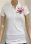 Ladies-Denim-Guru-London-White-Polo-T-Shirt-Womans-Short-Sleeve-Top-Size-M-L-XL
