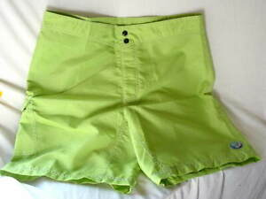 NIKE-VB-Green-Volleyball-Polyester-Lightweight-Sport-Shorts-Mens-size-36-NWT-NEW