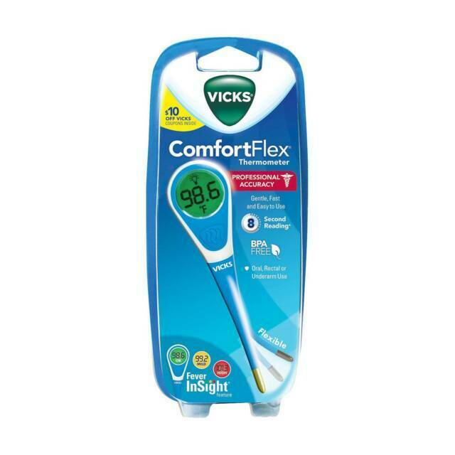 Vicks Comfortflex Digital Thermometer For Sale Online Ebay