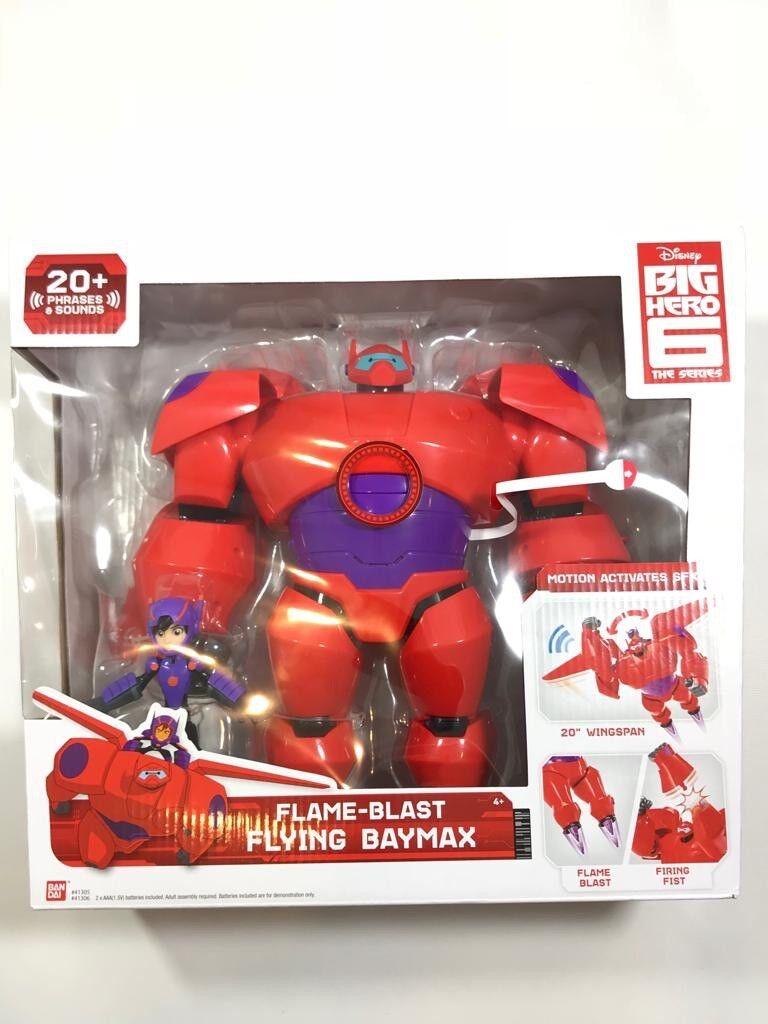 Grandes Héroes 6 llama explosión Volador Baymax