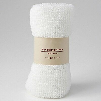 MUJI☀Japan-Bubbled Body Towel Soft 25×90cm