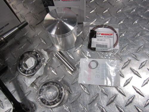 Blaster Cylinder Top End Rebuild Kit 66m Wiseco Bearing Complete Head Studs Plug
