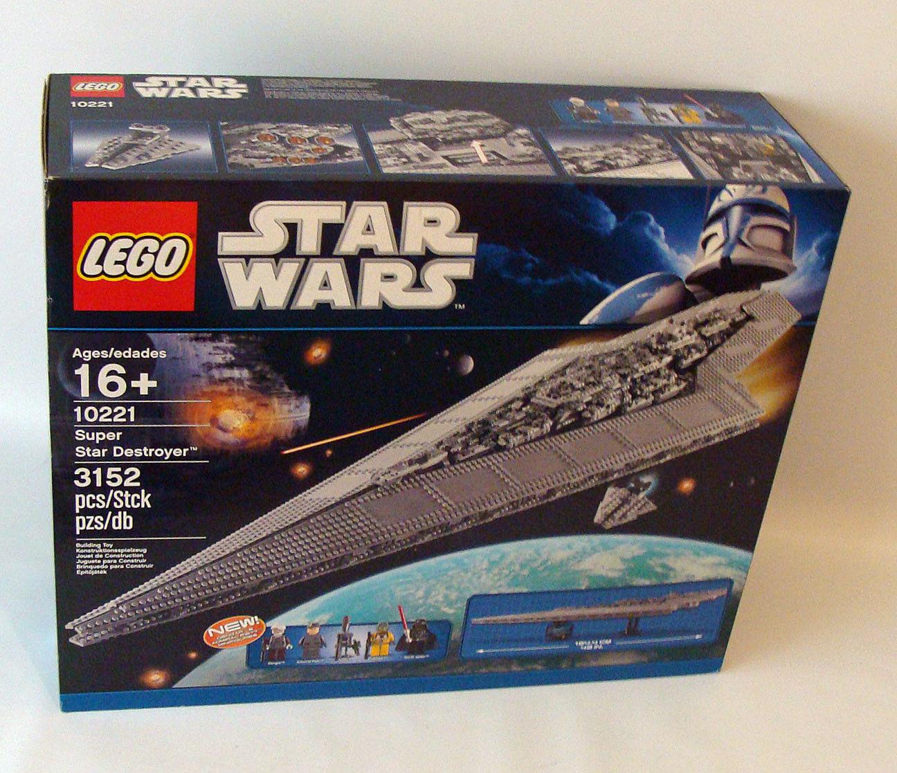 Lego® Star Wars 10221 - Super Star Destroyer 3152 Teile 16+ - Neu