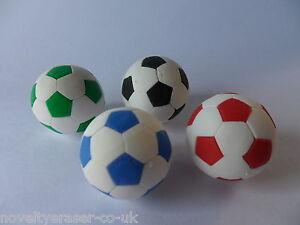 IWAKO Japanese Sports Novelty Eraser Rubbers - IWAKO Football Erasers
